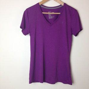 Nike Dri-Fit size M purple top